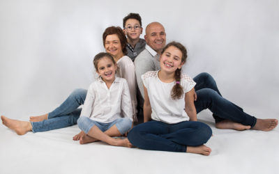Sportliches Familienshooting