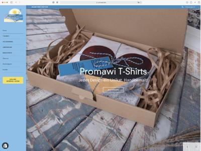 Promawi by Constanze Henkel - handbemalte T-Shirts und Amigurumi - japanische Häkelpuppgen